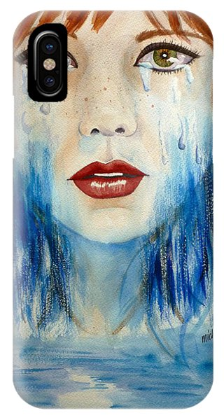 Crying A River IPhone Case