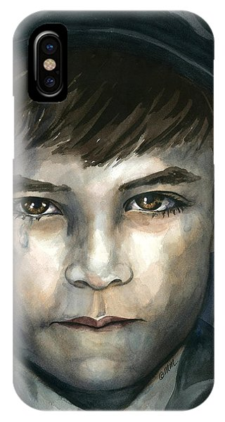 Crying In The Shadows IPhone Case