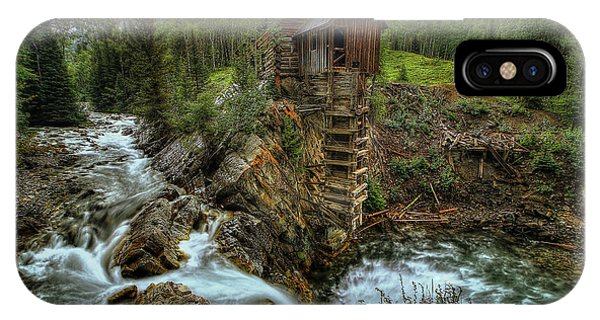 Crystal Mill Riverside IPhone Case