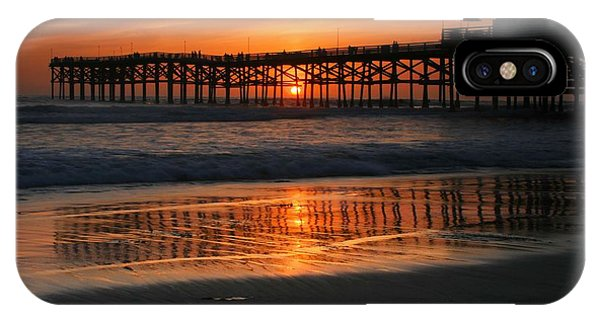 Crystal Pier Sunset IPhone Case