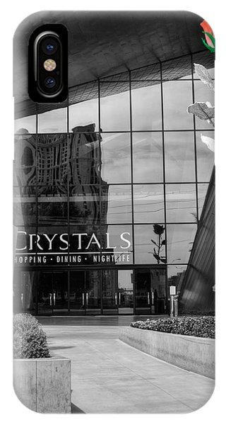 Window Shopping iPhone Case - Crystal Rose by Ricky Barnard