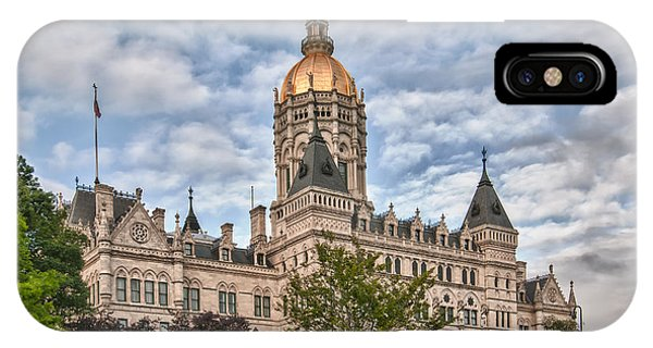 Ct State Capitol Building IPhone Case