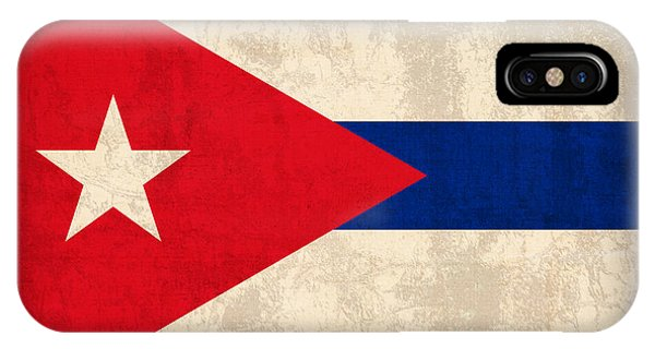 Cuba iPhone Case - Cuba Flag Vintage Distressed Finish by Design Turnpike