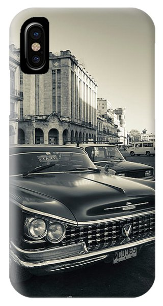Cuba, Havana, Havana Vieja, Detail Phone Case by Walter Bibikow