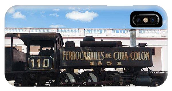1851 iPhone X Case - Cuba, Matanzas Province, Colon by Walter Bibikow