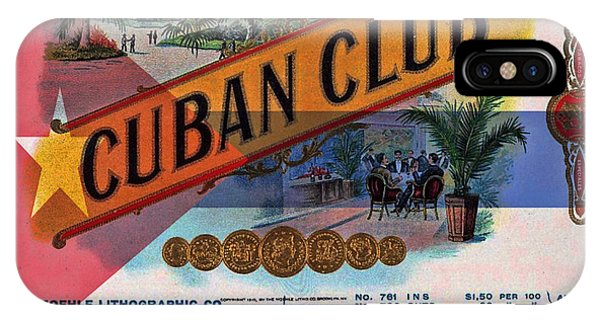 Cuba Vintage IPhone Case