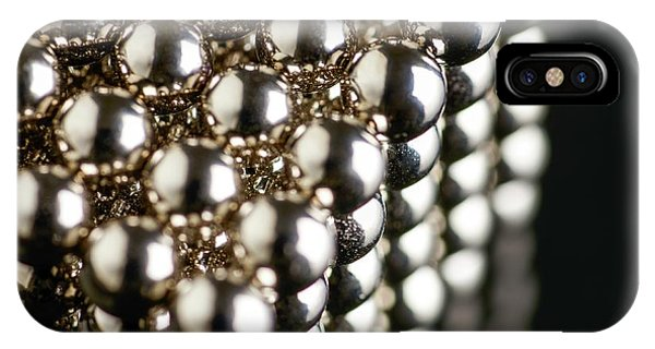 Cube Of Neodymium Magnets Phone Case by Science Photo Library