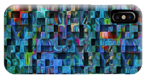 Visual Illusion iPhone Case - Cubed 3 by Jack Zulli
