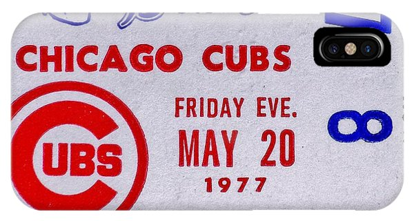 Cubs At Braves 1977 IPhone Case