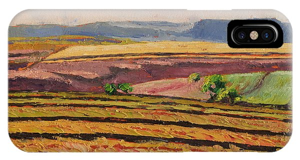 Cultivated Fields Near Ficksburg South Africa Bertram Poole IPhone Case