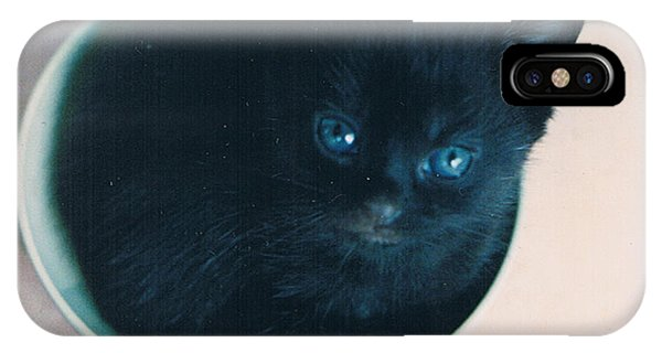 Cup O'kitty IPhone Case