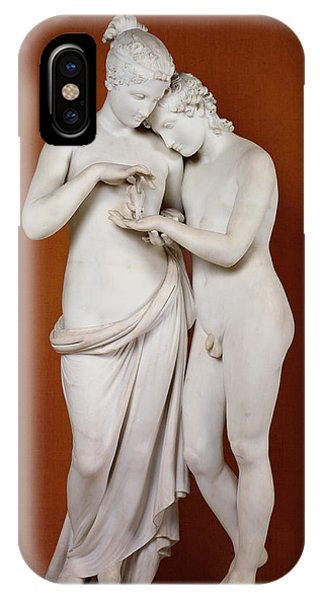 Louvre iPhone Case - Cupid And Psyche by Antonio Canova