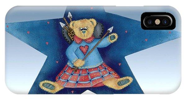 Cupid's Teddy Bear IPhone Case