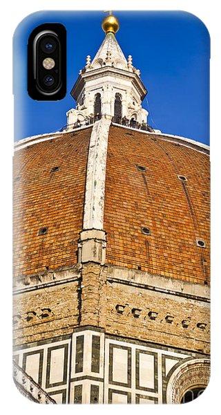 Cupola On Florence Duomo IPhone Case