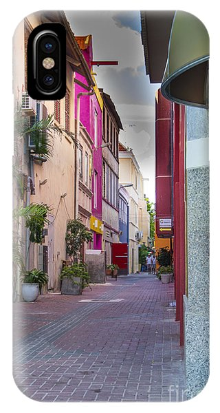 Curacao Alley IPhone Case