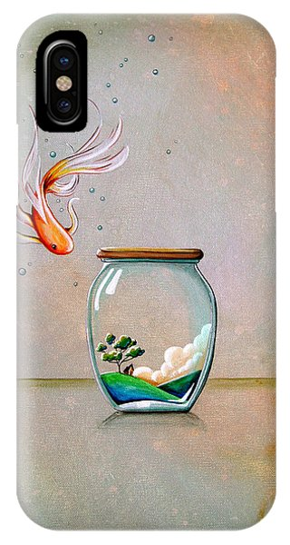 Imagination iPhone Case - Curiosity by Cindy Thornton