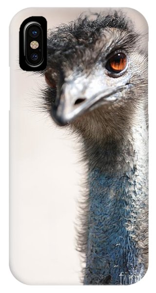 Curious Emu IPhone Case