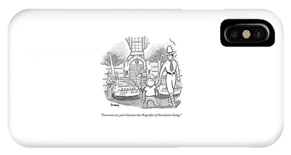 Curious George Is Escorted Out Of A Police IPhone Case