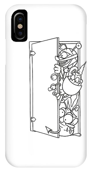 Curious Monster IPhone Case