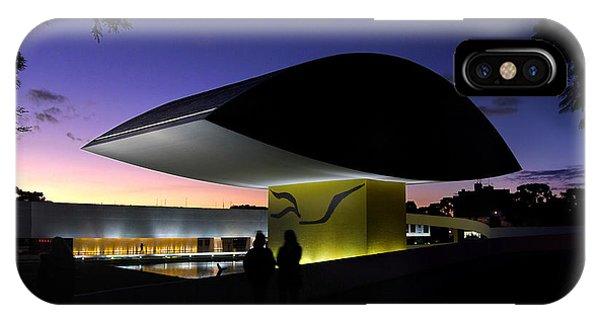 Curitiba - Museu Oscar Niemeyer IPhone Case