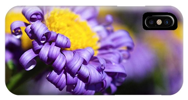 Curly Haired Beauty IPhone Case