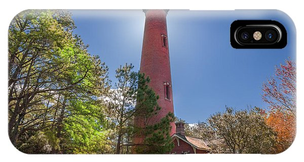 Currituck Beach Lighthouse  IPhone Case