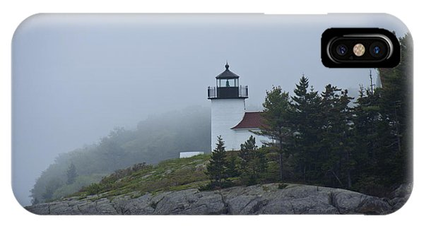 Curtis Island Lighthouse IPhone Case