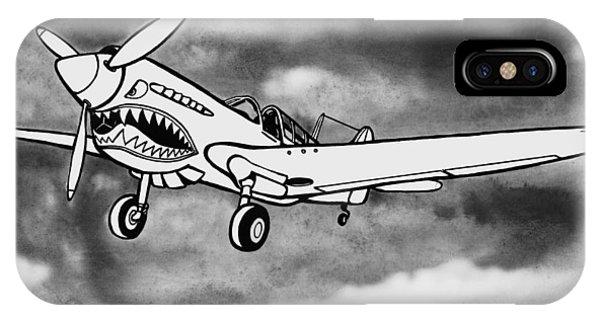 Curtiss P-40 Warhawk 2 IPhone Case