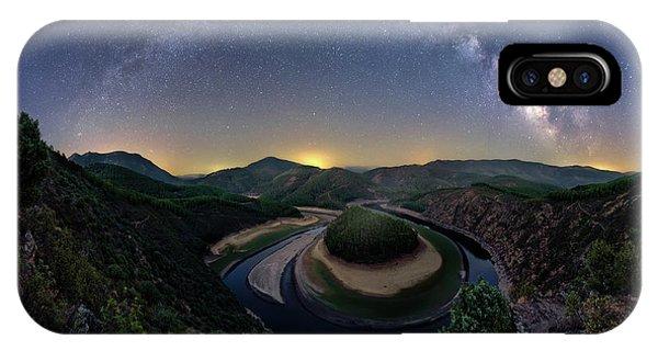 Astronomy iPhone Case - Curves by Jose Antonio Parejo