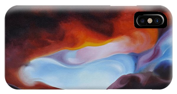 Curves On The Horizon IPhone Case