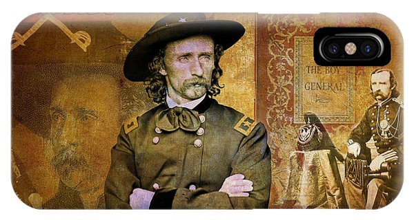 Custer IPhone Case