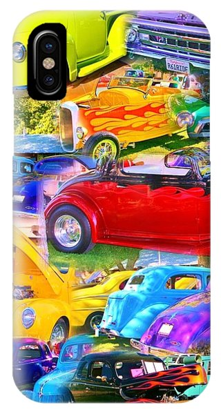 Custom Cars Collage IPhone Case