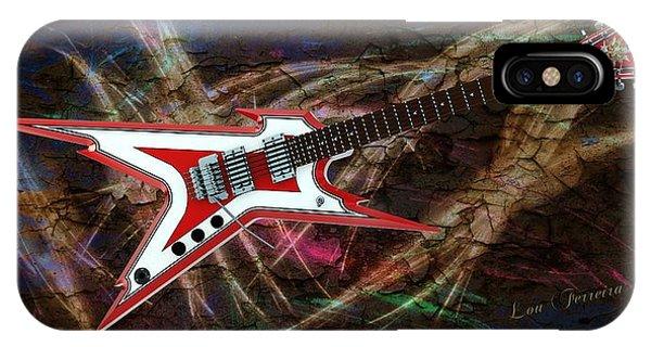 Custom Guitar  IPhone Case