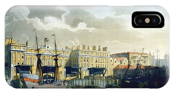Custom House From The River Thames IPhone Case
