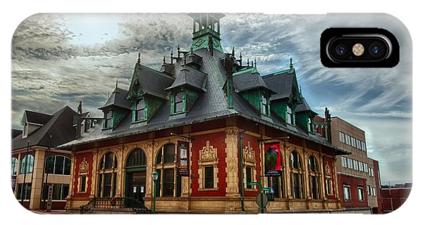 Customs House Museum IPhone Case