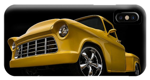 Truck iPhone X Case - Cut '55 by Douglas Pittman