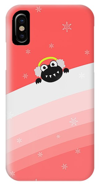 Cute Bug With Earflaps IPhone Case