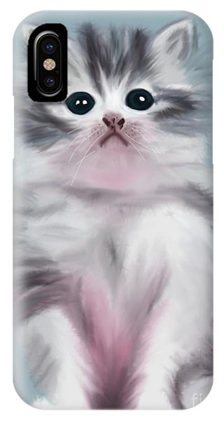 Cute Kitten IPhone Case