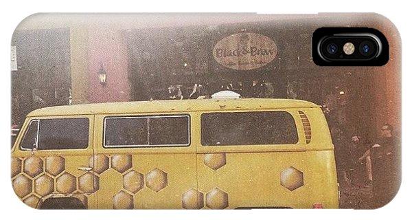 Vw Bus iPhone Case - Honeycomb by Allie Wisniewski