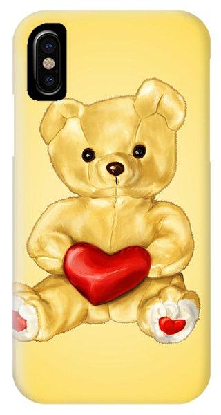 Cute Teddy Bear Hypnotist IPhone Case