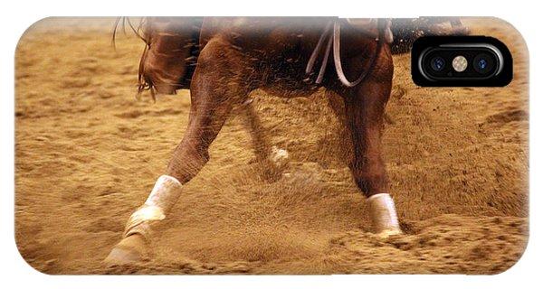Cutting Horse 6 IPhone Case