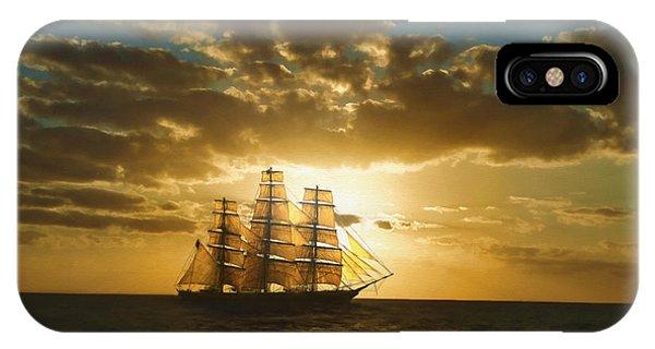 Cutty Sark IPhone Case