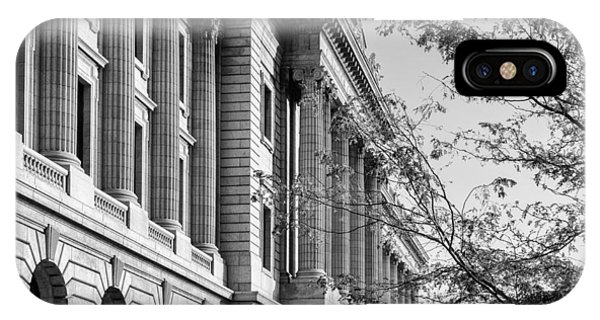 Cuyahoga County Court House IPhone Case