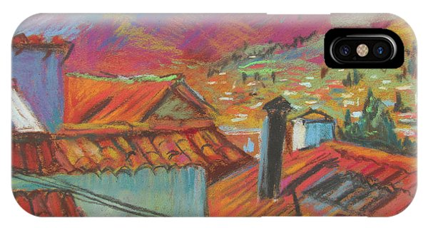 Cuzco Rooftops IPhone Case