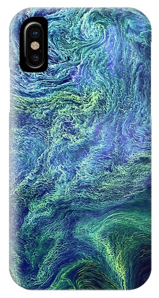 Cyanobacteria Bloom IPhone Case