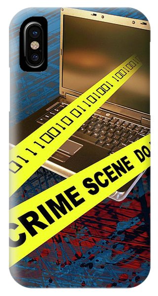 Cyber Crime IPhone Case