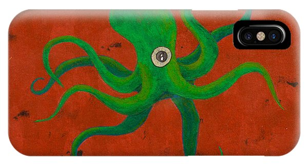 Cycloptopus Red IPhone Case