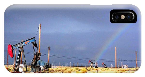Cymric Field Rainbow IPhone Case
