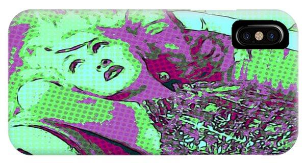 Cyndi Lauper IPhone Case