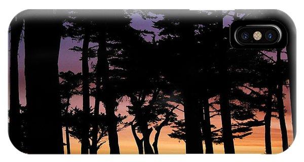 Cypress Sunset IPhone Case